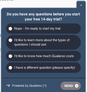 Web surveys: simple but insightful
