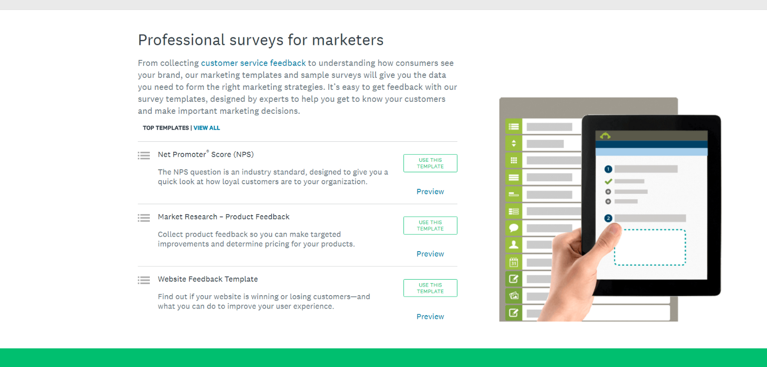 top 70 e commerce conversion rate optimization tools dexter agencyuse survey monkey to get feedback from your users and customers